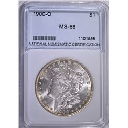 1900-O MORGAN DOLLAR NNC GRADED