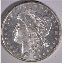 1900 MORGAN DOLLAR  GEM BU  PL OBV