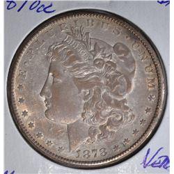 1878-CC MORGAN DOLLAR  VERY CH.BU