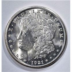 1921-S MORGAN DOLLAR  CH BU+