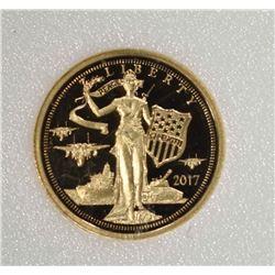 2018 COOK ISLAND 1/10 oz .999 GOLD