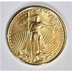1999 1/10 oz AMERICAN GOLD EAGLE