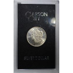 1883-CC GSA MORGAN DOLLAR, CH BU ORIG. BOX/COA
