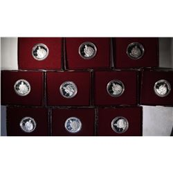 (10) 1982-S George Washington Proof Half Dollars