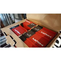 CASE OF HILTI GC22 CYLINDERS FOR GX120