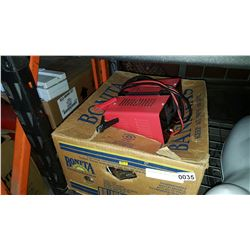 CAR CHARGER AND BOX OF TOOLS