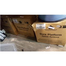 3 NEW SPOOLS OF BLACK DURASEAL 1750 FOOT DURA PLATFORM SPACER SYSTEM