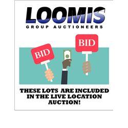 LIVE LOCATION AUCTION