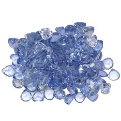 12.53 ctw Round Mixed Tanzanite Parcel
