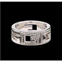Gucci 0.44 ctw Diamond Ring - 18KT White Gold