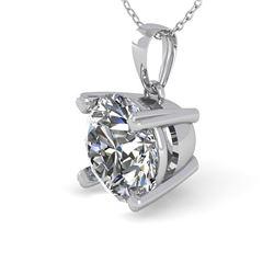 1 CTW VS/SI Diamond Designer Necklace 14K White Gold - REF-273N3Y - 38416