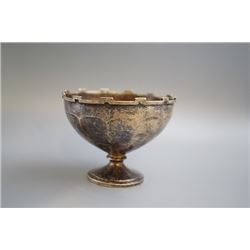 Middle 19th Century 925 Silver Stem Cup.