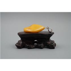 Baltic Butterscotch Amber Pendant.