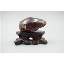 Blue Amber Stone