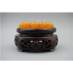Baltic Butterscotch Amber Beads Bracelet