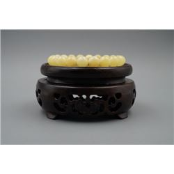 Baltic Royal Amber Round Beads Bracelet.