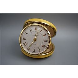 "An Early 20th Century ""Westclox"" Made Small Alarm Clock."
