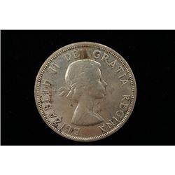 1957 Canada Silver Coin.