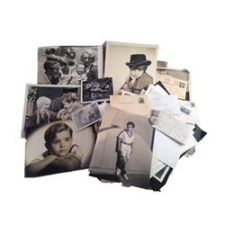 The Little Rascals Scotty Beckett Personal Lot of Rare Studio Photographs & Personal Letters Memorab