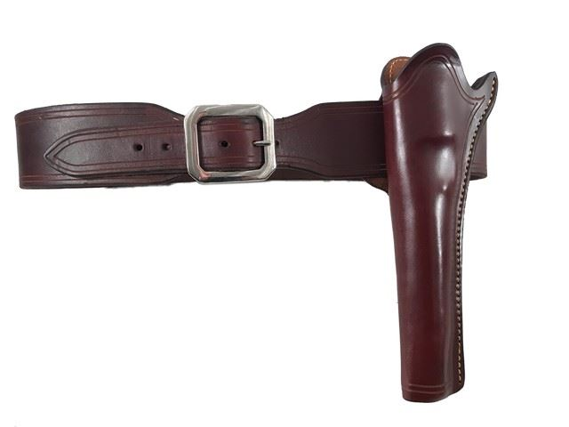 Django Unchained Django's (Jamie Foxx) Hero Screen Used Gun Belt & Holster  Movie Props