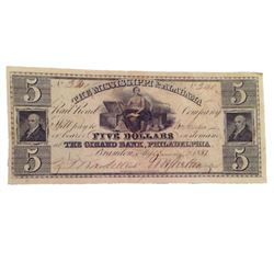Django Unchained $5 Bank Note Movie Props