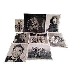Scotty Beckett Personal Collection of Co-Star Original Photographs