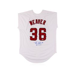 Los Angeles Angels of Anaheim Jered Weaver Autographed Jersey PSA Certified
