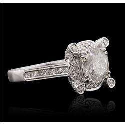 18KT White Gold 3.13 ctw Diamond Ring