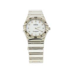 Omega Stainless Steel Constellation Mini Ladies Watch