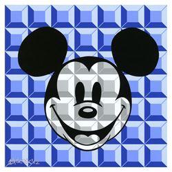 8-Bit Block Mickey (Blue) by Loveless, Tennessee