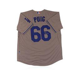 Los Angeles Dodgers Yasiel Puig Autographed Jersey