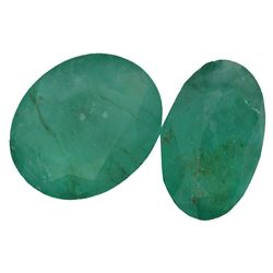 4.67 ctw Oval Mixed Emerald Parcel
