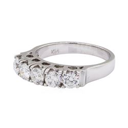 1.19 ctw Diamond Ring - 14KT White Gold