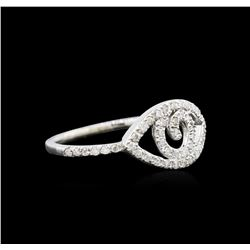 0.23 ctw Diamond Ring - 14KT White Gold