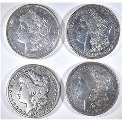 1901-O, 2-1921, 1921-D MORGAN