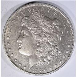 1886-O MORGAN DOLLAR  AU