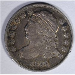 1834 CAPPED BUST DIME  XF