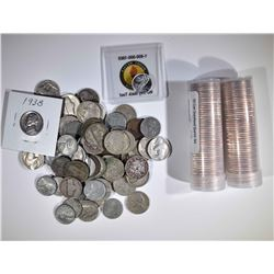 2 - 50 coin STATE 25c SETS in TUBES; 1/10