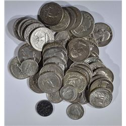 $9.75 FACE in SILVER QTRS & DIMES