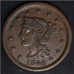 1846 LARGE CENT, XF N-11 R-2+