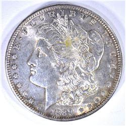 1889 MORGAN DOLLAR, CH BU