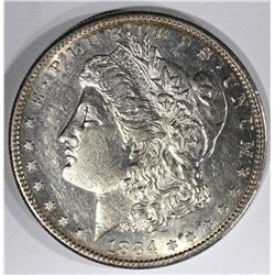 1884-S MORGAN SILVER DOLLAR  CH BU
