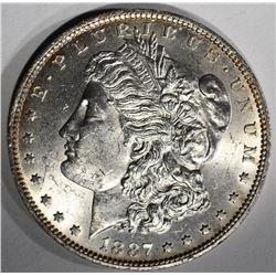 1887-O MORGAN SILVER DOLLAR  CH BU+