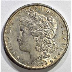 1878-CC MORGAN DOLLAR AU/UNC