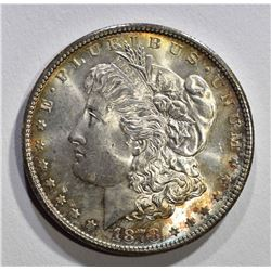 1878-S MORGAN DOLLAR CH BU+