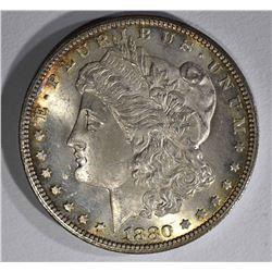 1880-CC MORGAN DOLLAR CH BU+