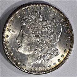 1883-CC MORGAN DOLLAR CH BU+