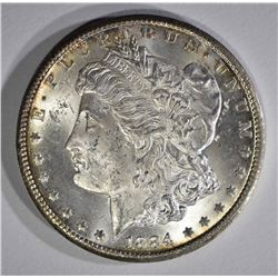 1884-CC MORGAN DOLLAR CH BU+