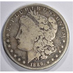 1889-CC MORGAN DOLLAR G/VG