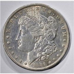 1889-S MORGAN DOLLAR AU/UNC